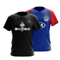 Champions Combo! Bengaluru FC Official Home Replica 2019-20 & ISL Champions T-Shirt